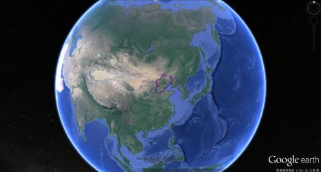 幽燕在全球中位置