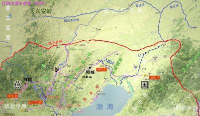 燕地北境古代交通