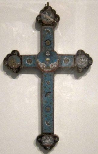 18世纪北京的景泰蓝十字架