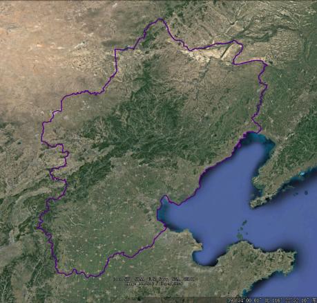 幽燕地形图