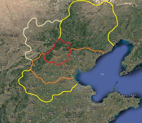 燕地几大主要区域