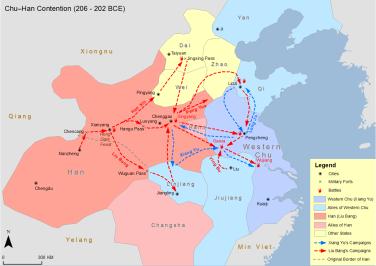 Chu-Han_Contention206-220BC