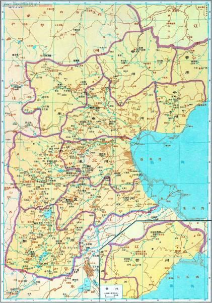 北朝魏 相、冀、幽、平等州(南北朝)太和二十一年-497年