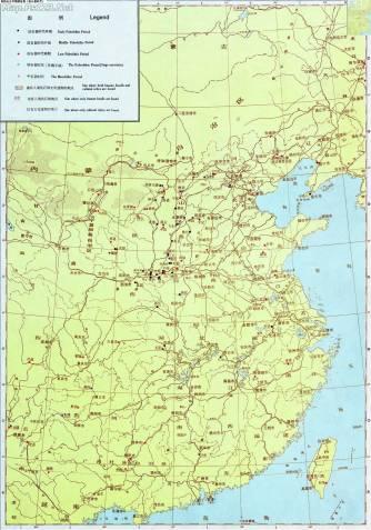 原始社会早期遗址图(旧石器时代)