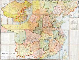 天主教教区地图1936年印制