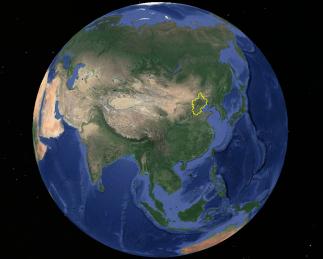 燕地在欧亚大陆位置