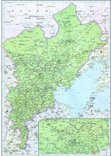 1820年的满清直隶省