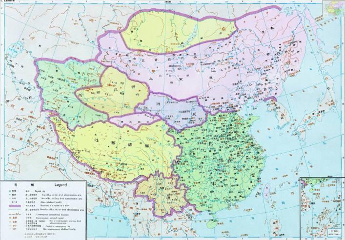 辽、北宋时期全图
