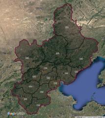 目前规划的国界正式版本-幽燕十四州
