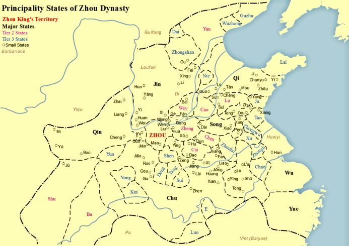 States_of_Zhou_Dynasty