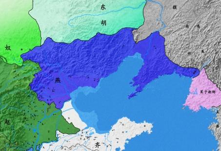 261BC燕国
