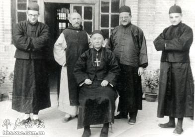 雷震远与雷鸣远和安国教区主教