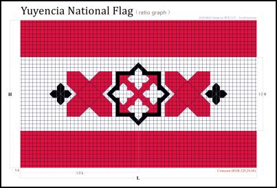 十字徽旗比例图