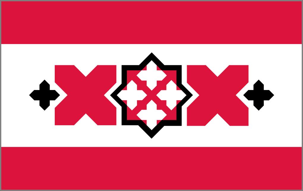09幽燕十字徽王室旗-边框