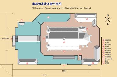 堂区平面图-院落