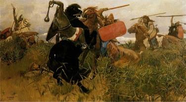 斯基泰人与斯拉夫人的战争