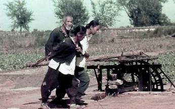 北京郊外农民1938年