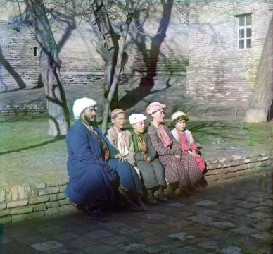20世纪初的撒马尔罕当地人
