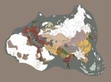 公元初的匈奴与斯基泰领地