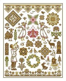 斯拉夫民族纹饰